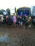 Mud at the Latitude Festival 2012